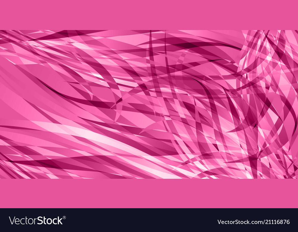 Background of smooth pink lines
