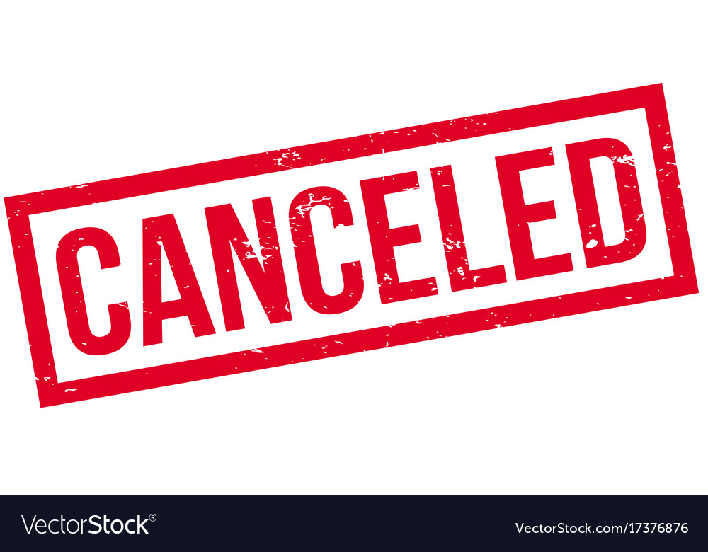 canceled stamp vector rubber royalty
