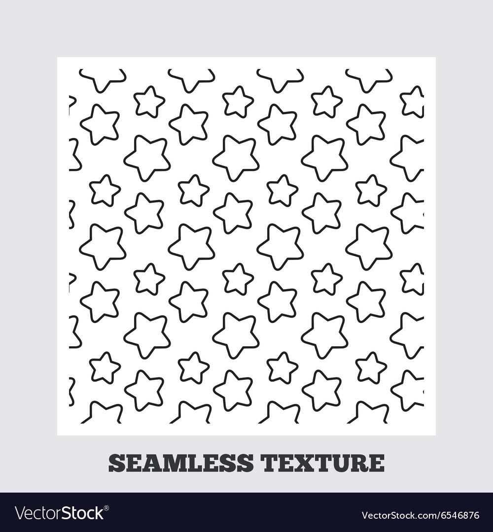 Stars stripped geometric seamless pattern