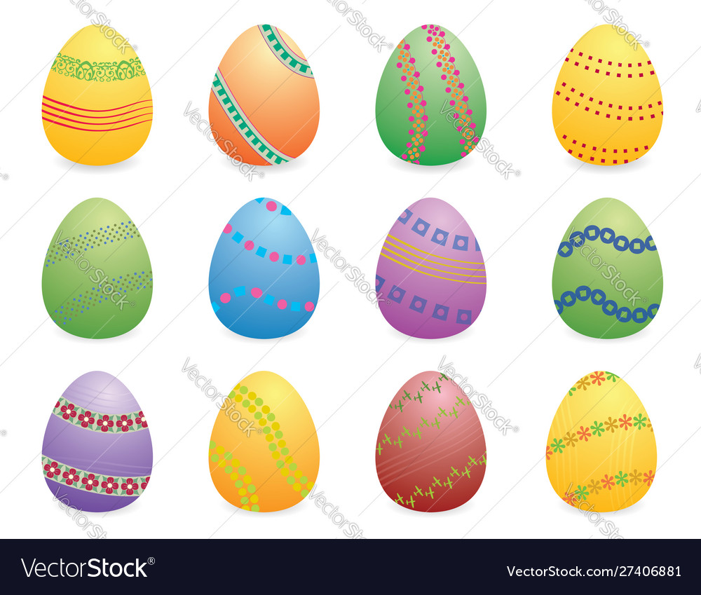 Easter eggs set two