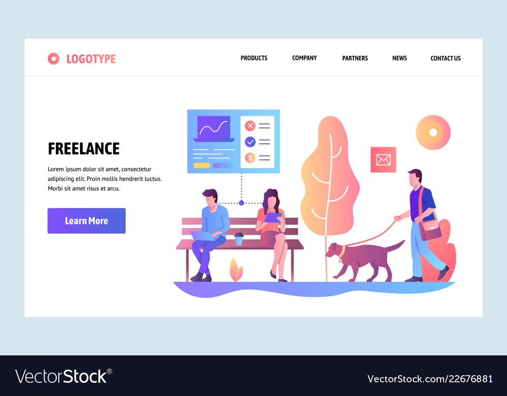 Web site gradient design template