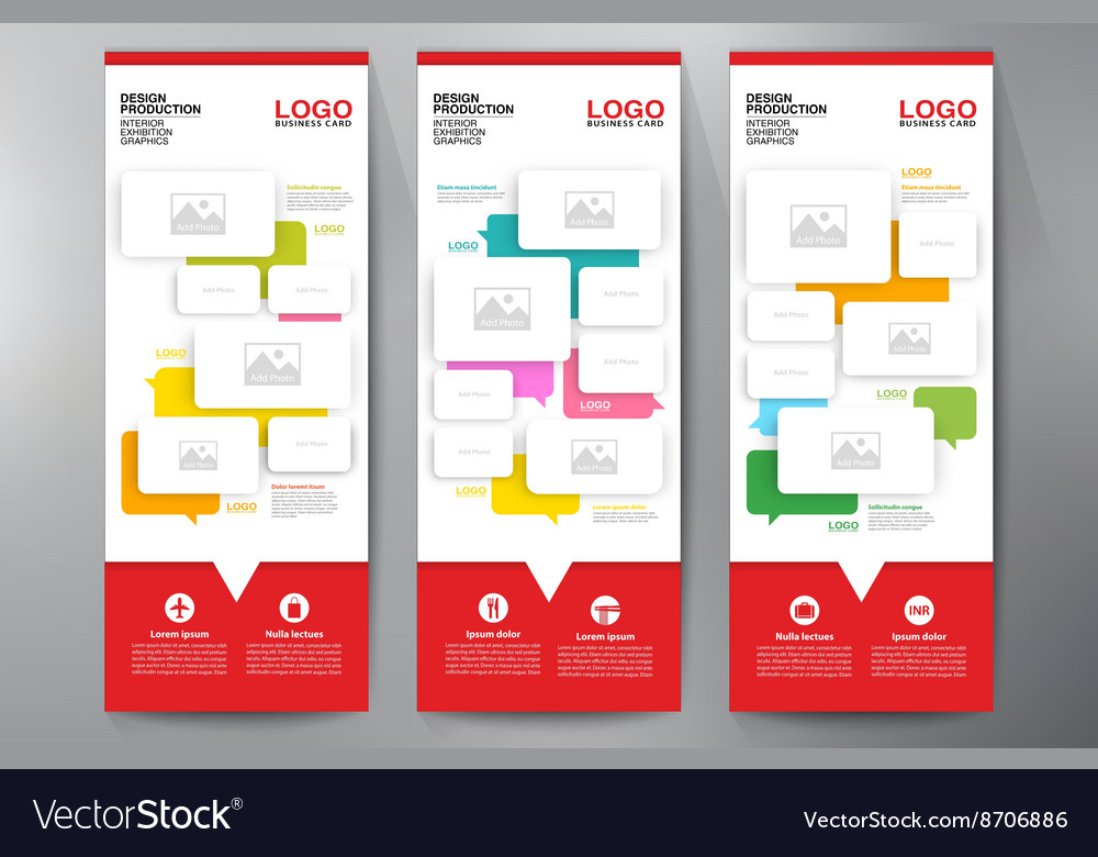 Exhibition Roll up Displays Template