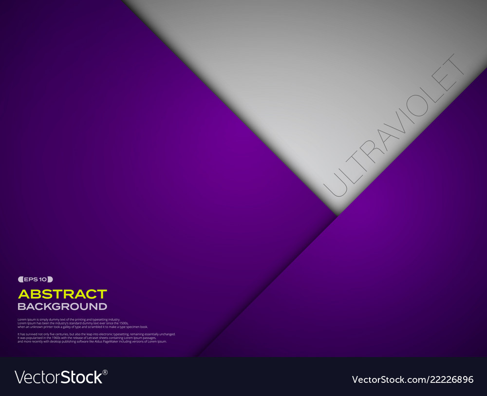 Abstract of paper cut gradient violet color