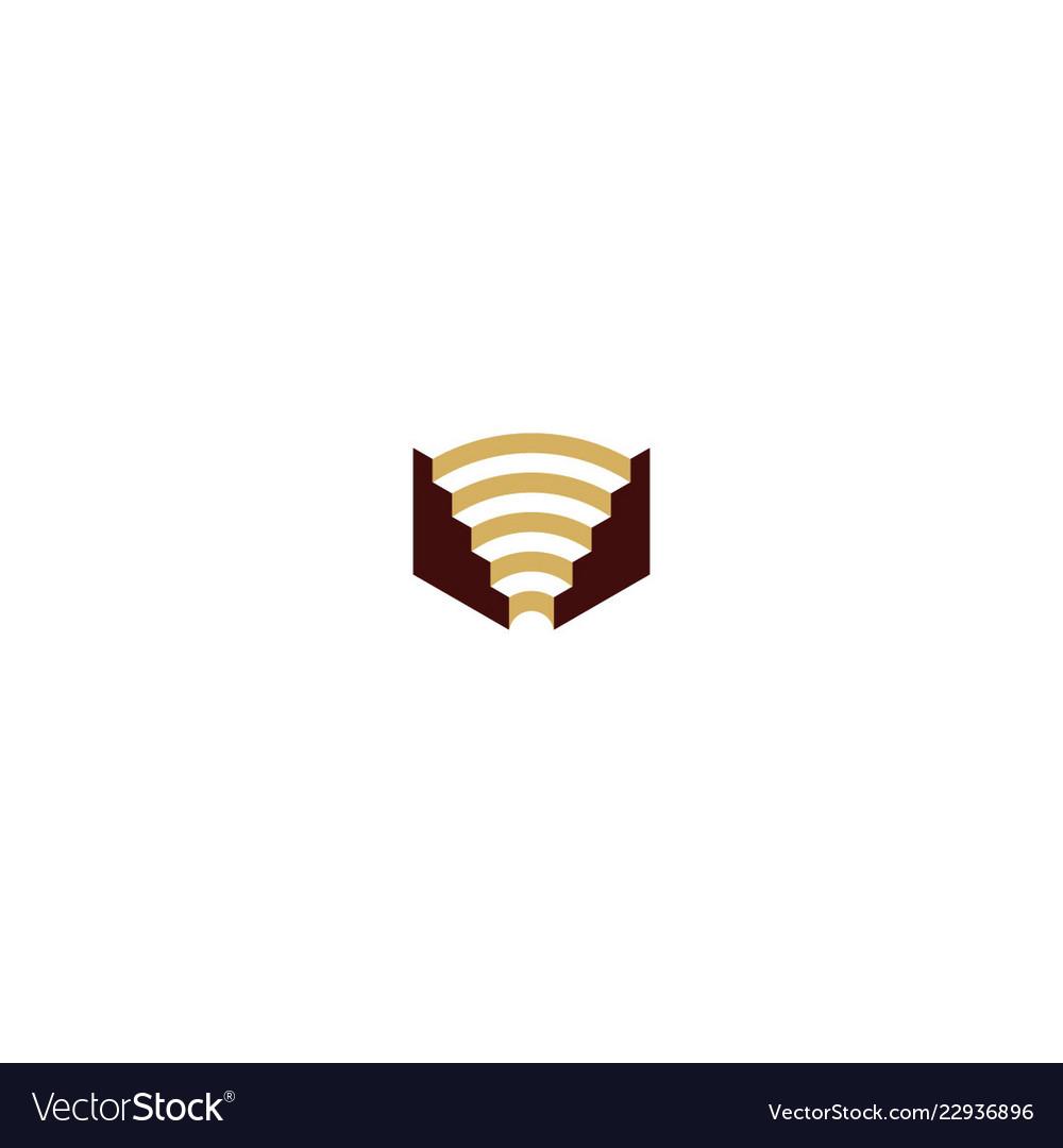 Colosseum building logo