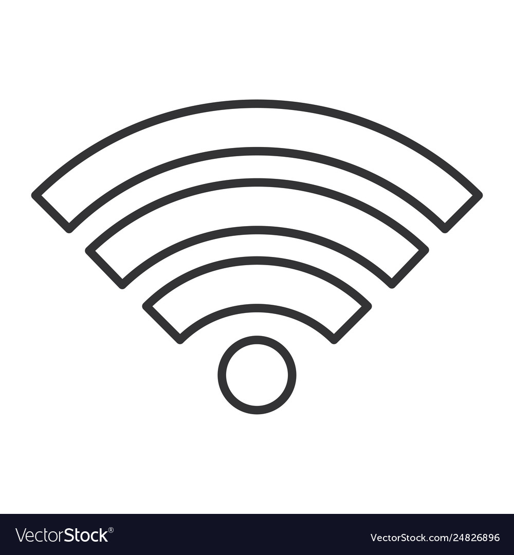 Wifi Symbol Icon Royalty Free Vector Image Vectorstock Freewifi symbol high quality vector file. wifi symbol icon royalty free vector image vectorstock