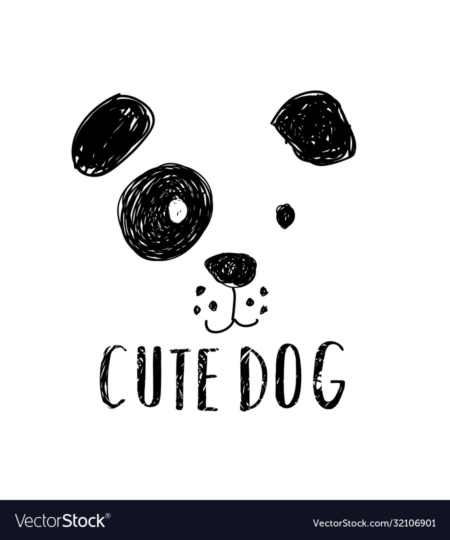 Cute dog t-shirt design with slogan