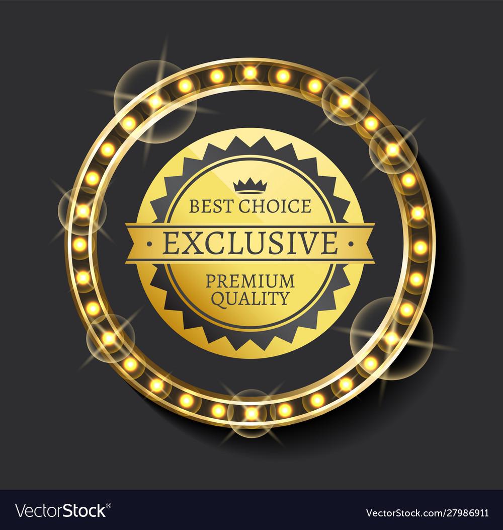Exclusive ad best choice premium quality