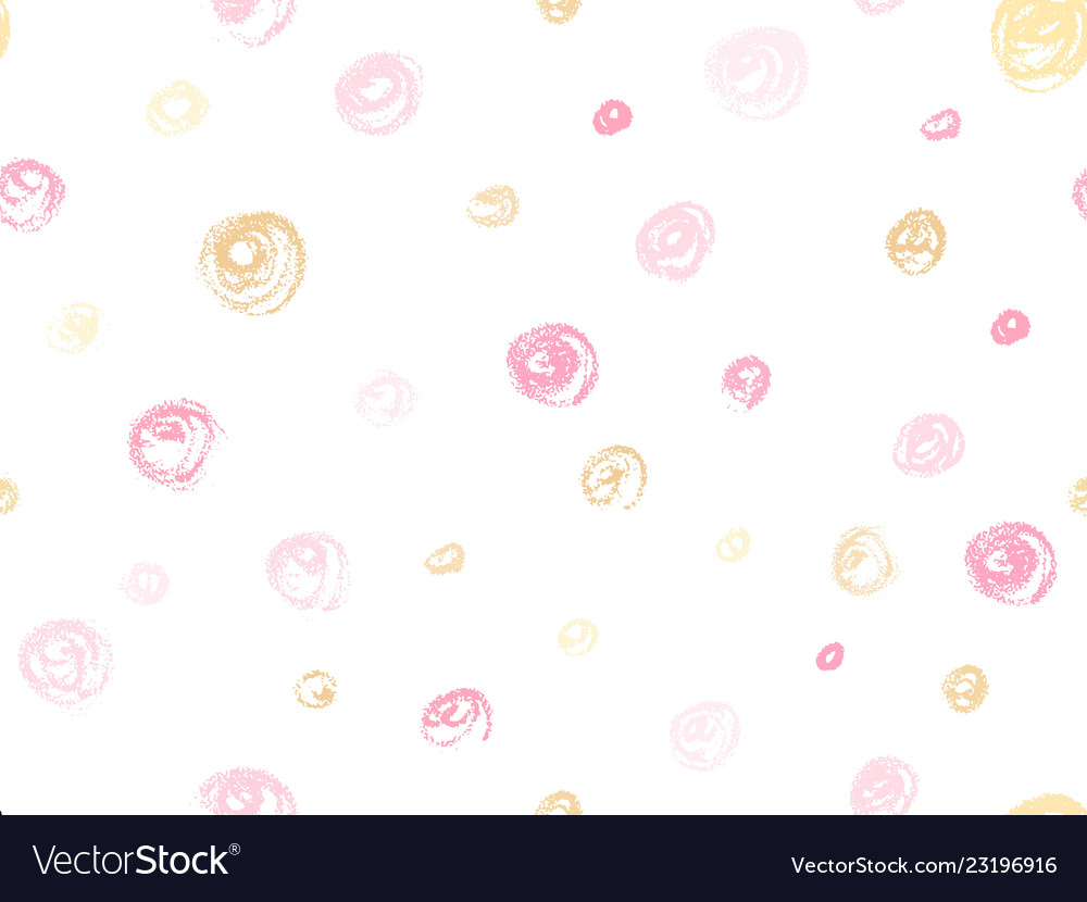 Rose gold hand drawn circle decoration fo
