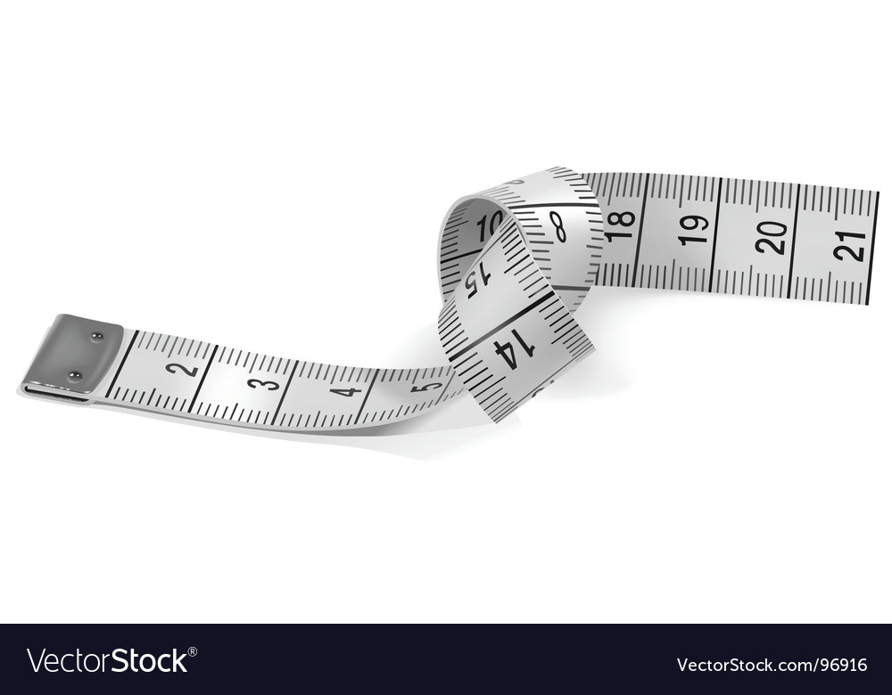 Tape measure vector image