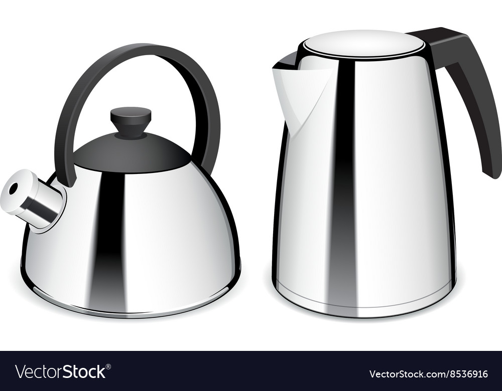 Teapot and electric kettle