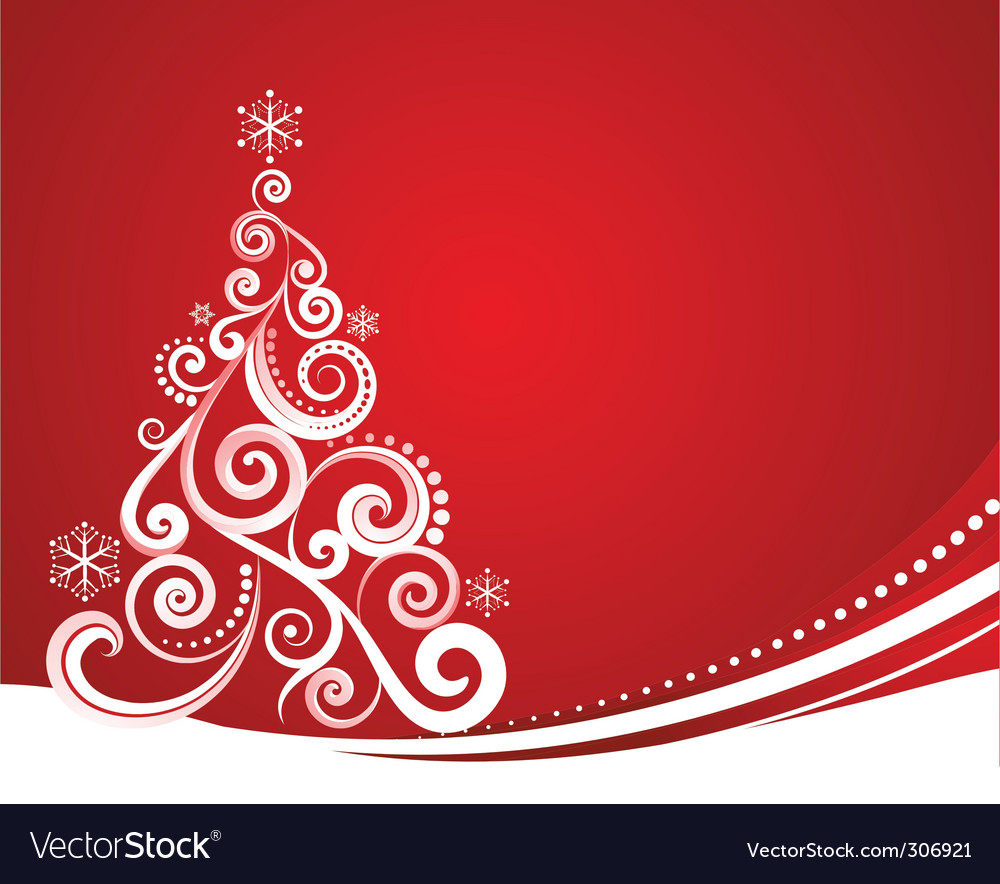 Christmas card design Royalty Free Vector Image