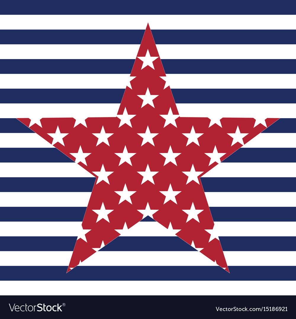 Usa star pattern background american