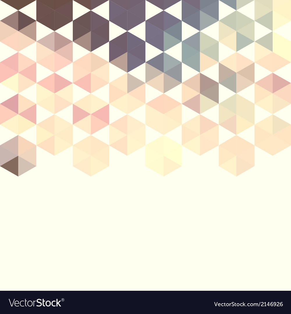 Abstract background with green hexagons