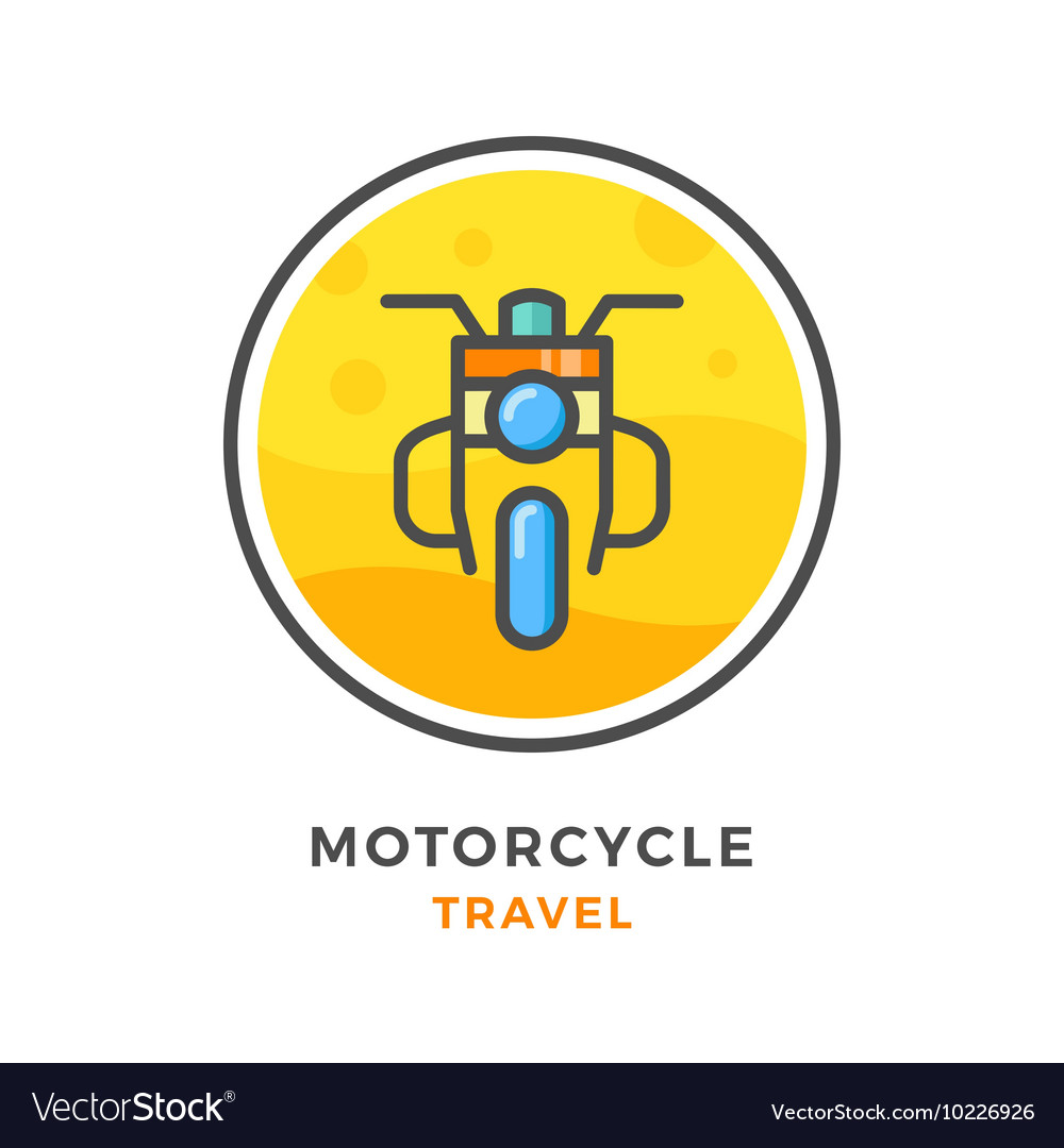 Motorcycle travel concept