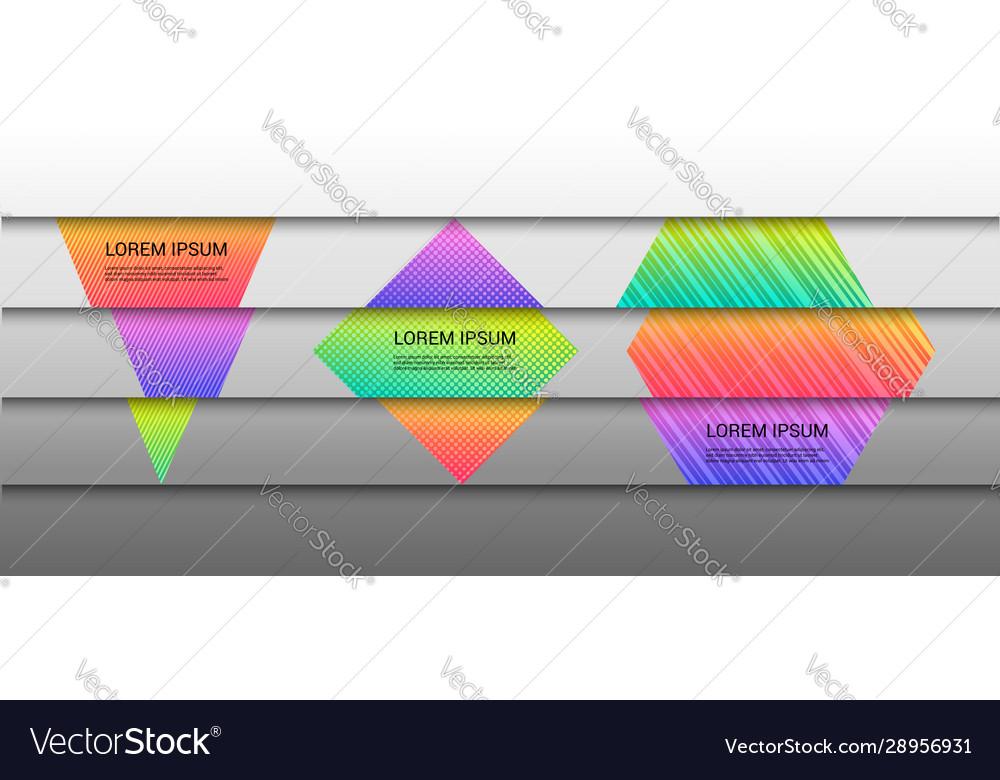 Geometric horizontal concept