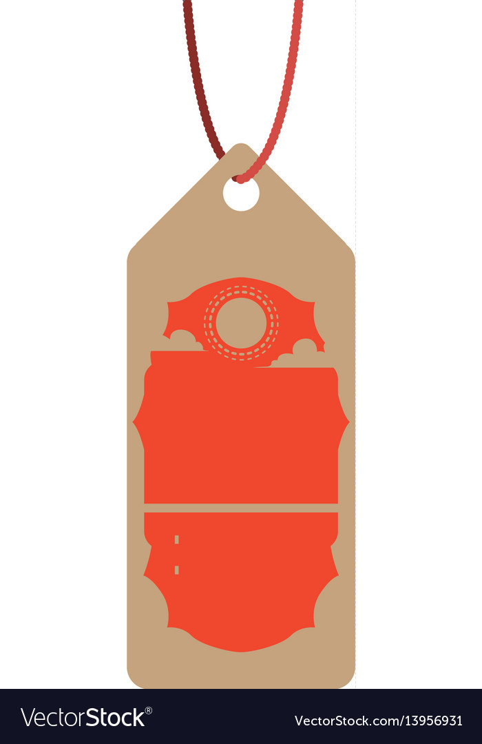 Label tag hotel tourism vector image