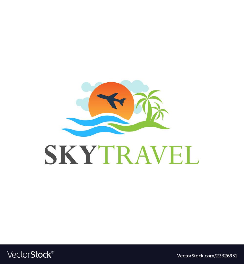 Tour and travel logo design inspiration