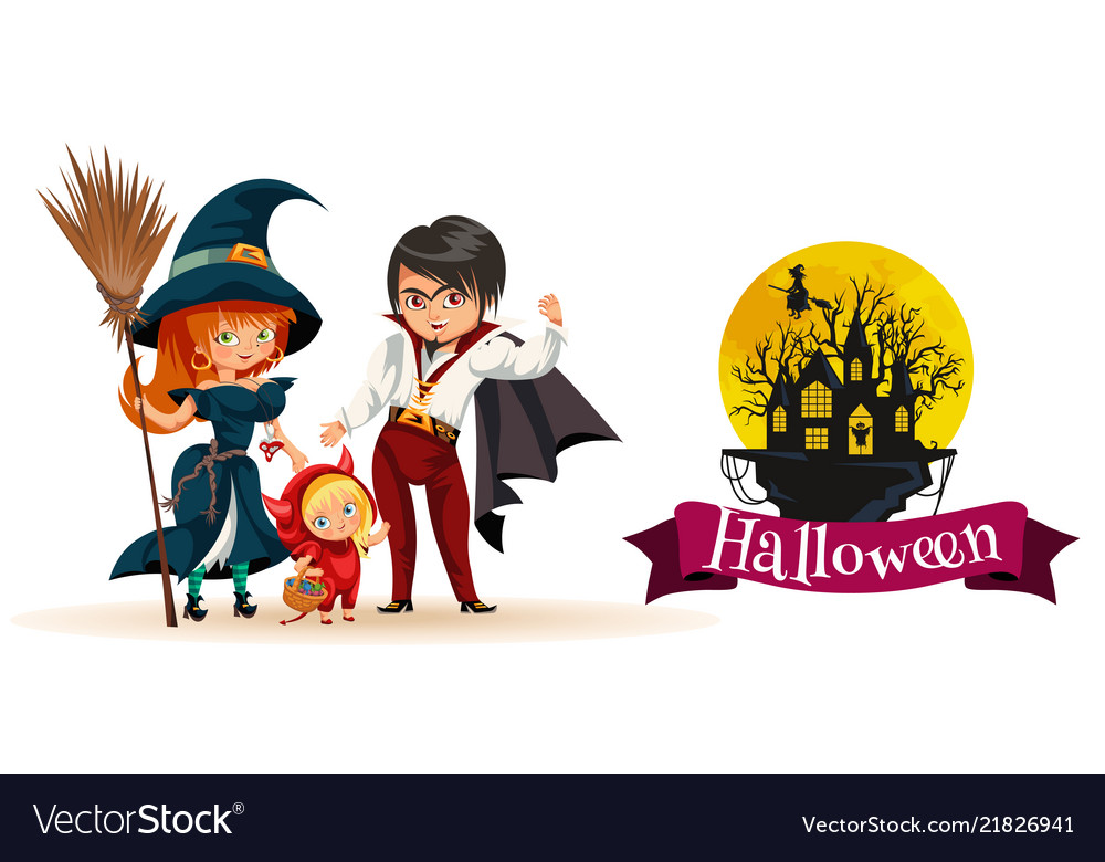 All hallows eve family party