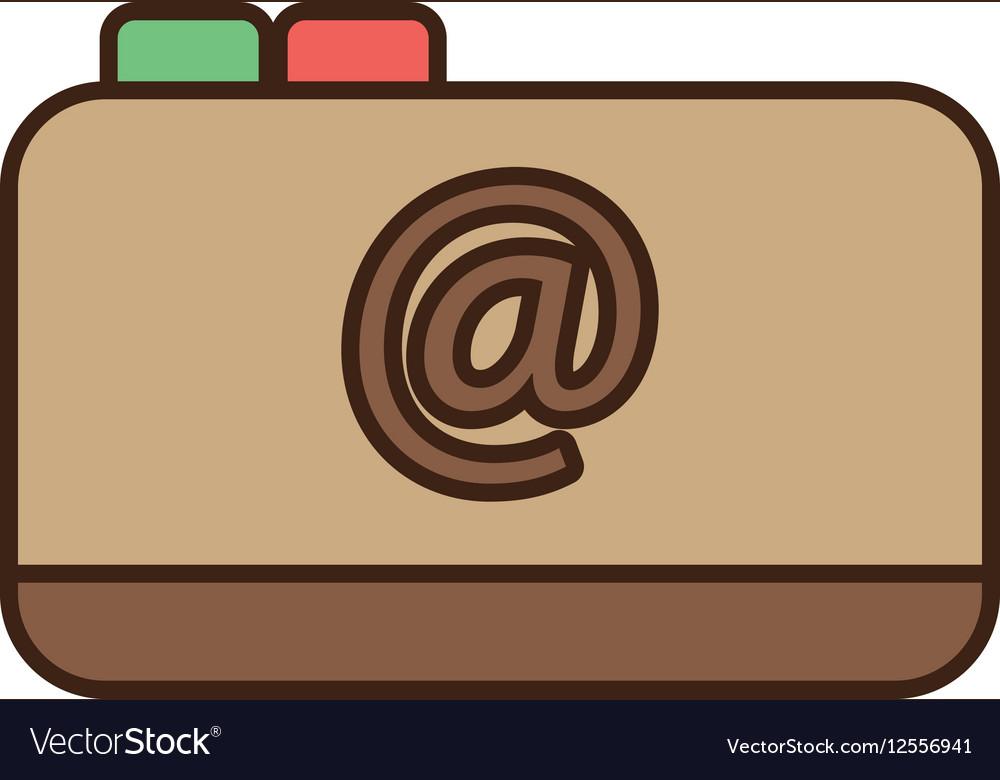 Cartoon notepad web contacts book