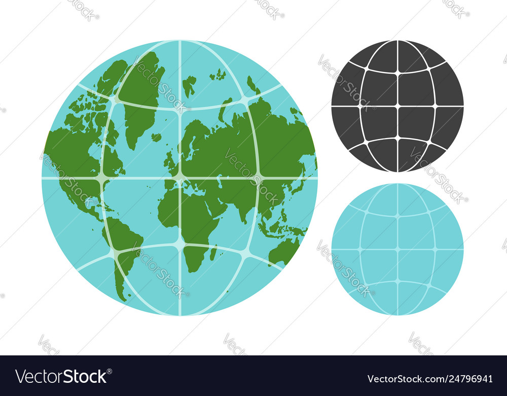 Earth planet icons