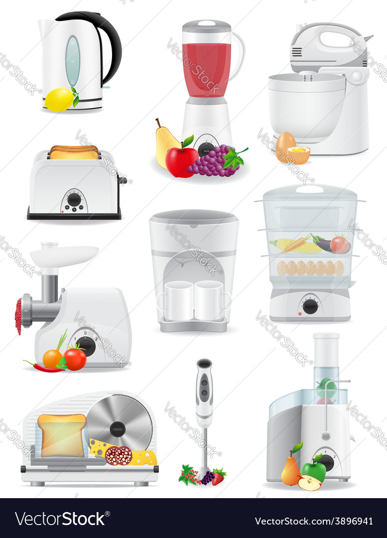 Electrical Appliances For The Kitchen 02