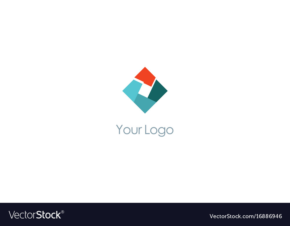 Square technology colored logo