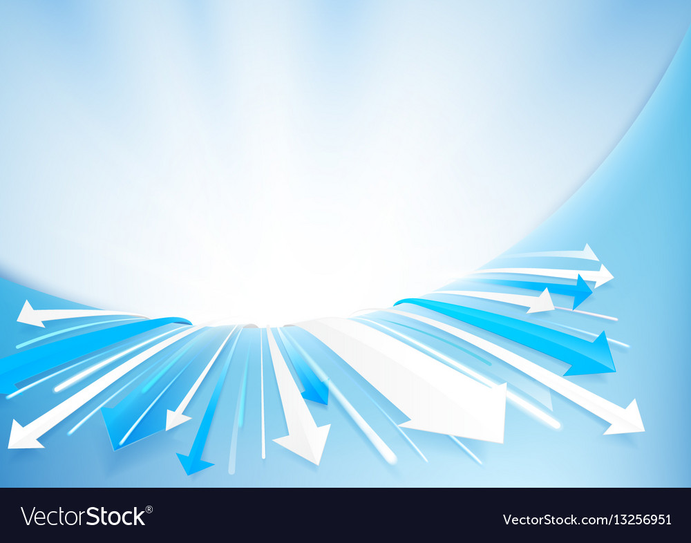 Abstract arrows background technology concept