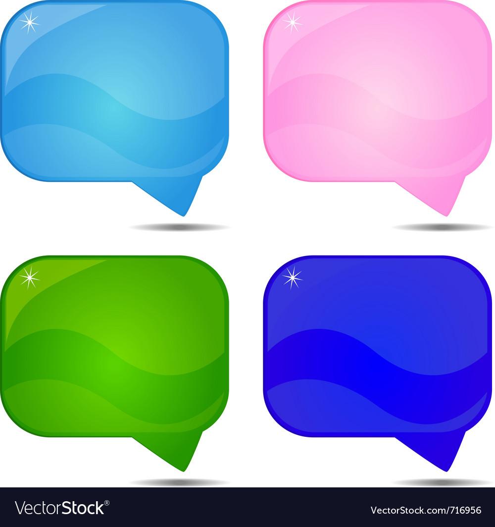Abstract speech background