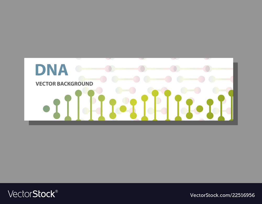science template for your design futuristic dna