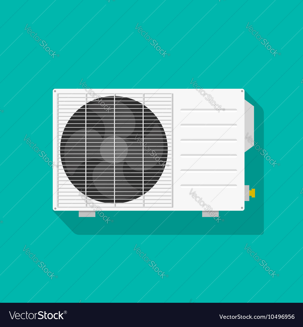 Air conditioning unit isolated