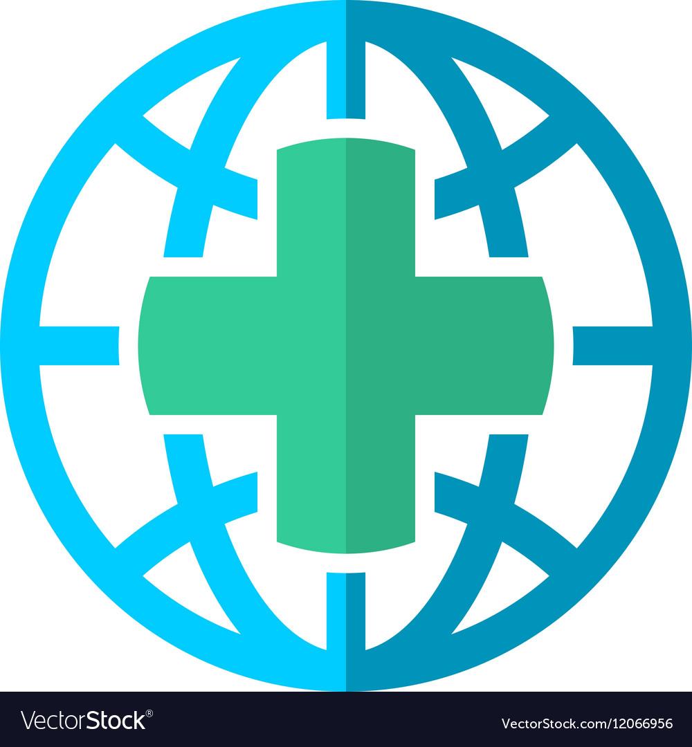 World globe medical travel insurance logo