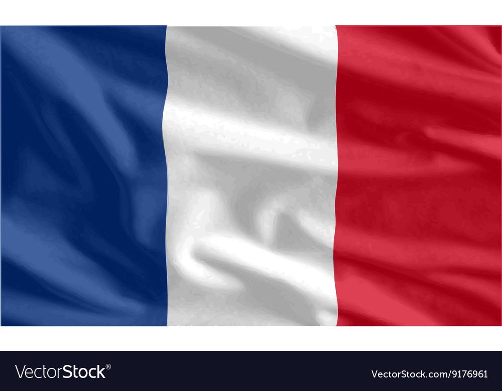 French Flag waving