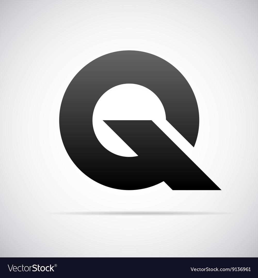 Logo for letter Q Design template