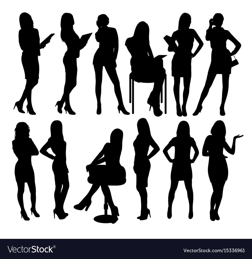 Free Sexy Secretary Pics sexy secretary and business woman silhouettes