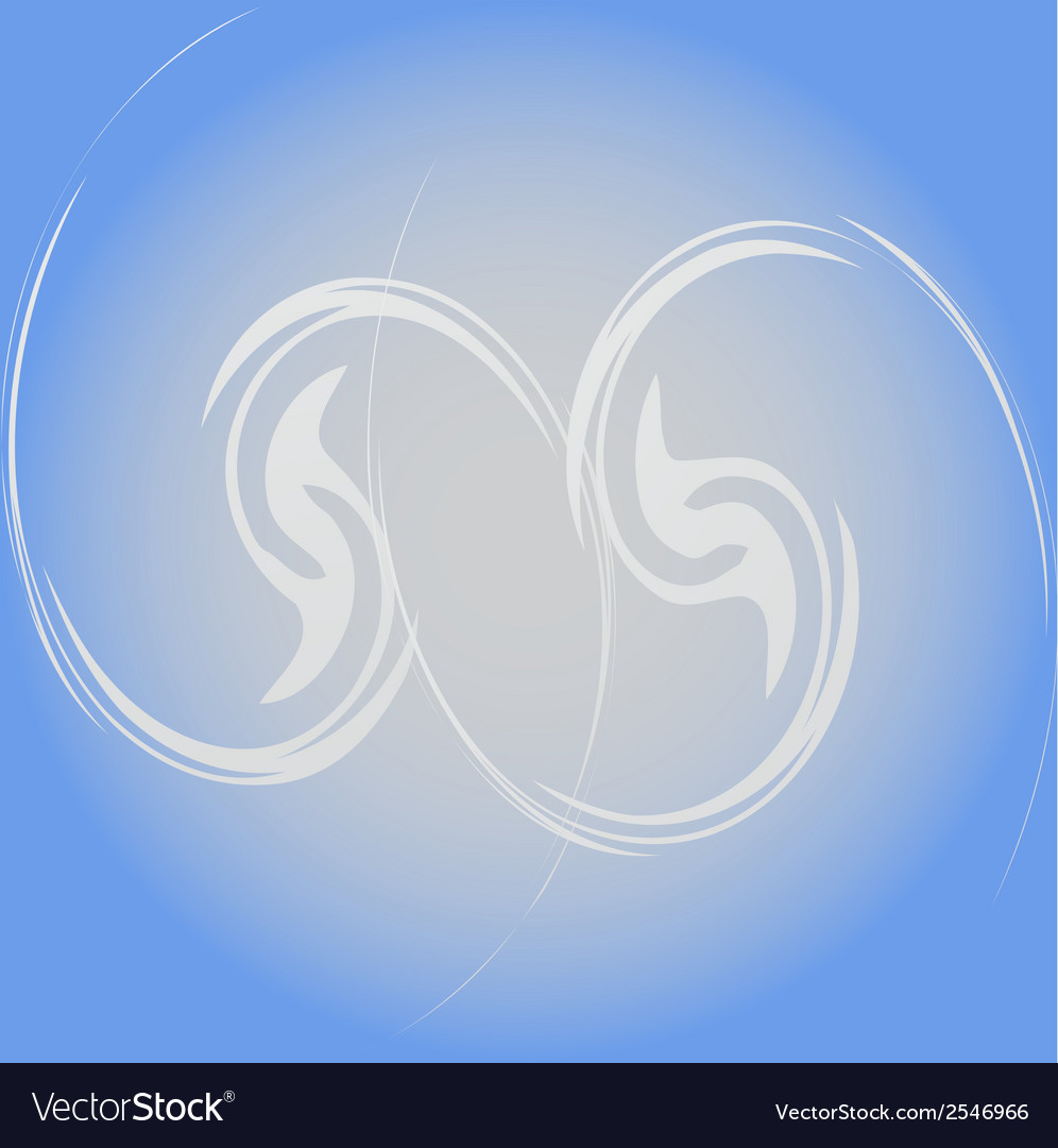 Abstract modern blue texture background white vector image