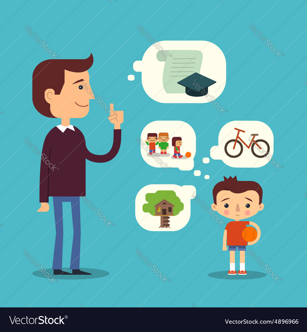 Education and games concept Childhood vector image