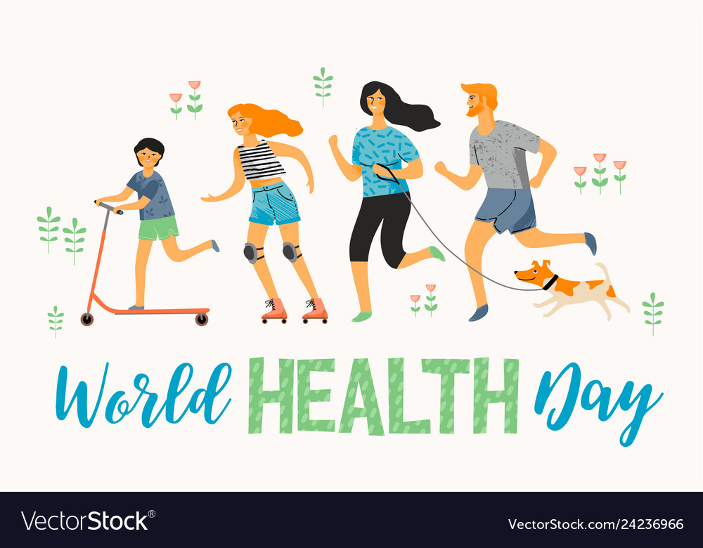879fd728c232 World health day healthy lifestyle sport family