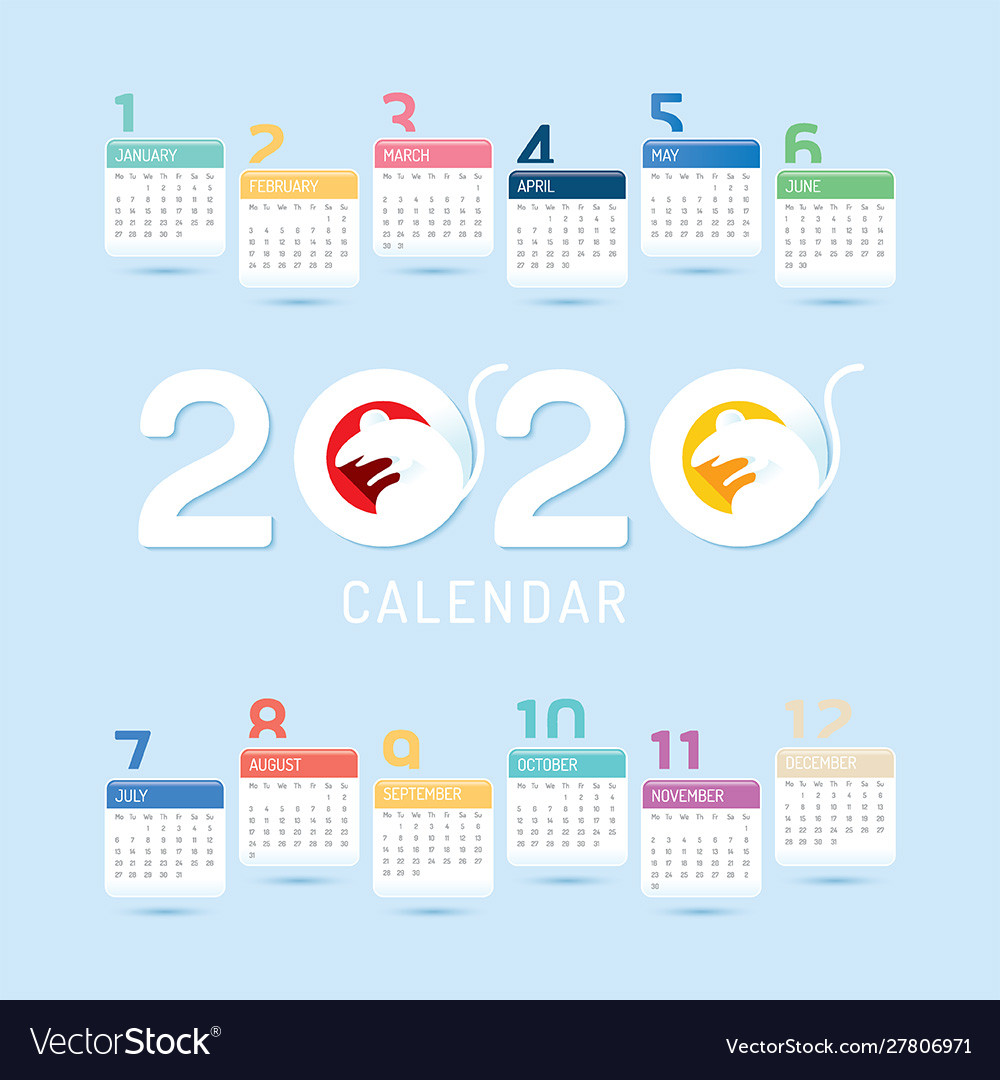 2020 calendar 2020 chinese new year 2020 year