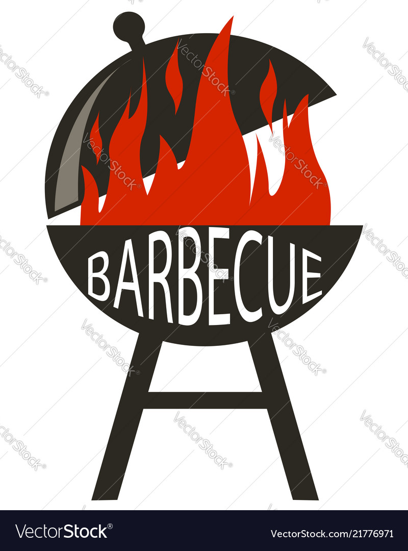 Barbecue icon in black style isolated on white