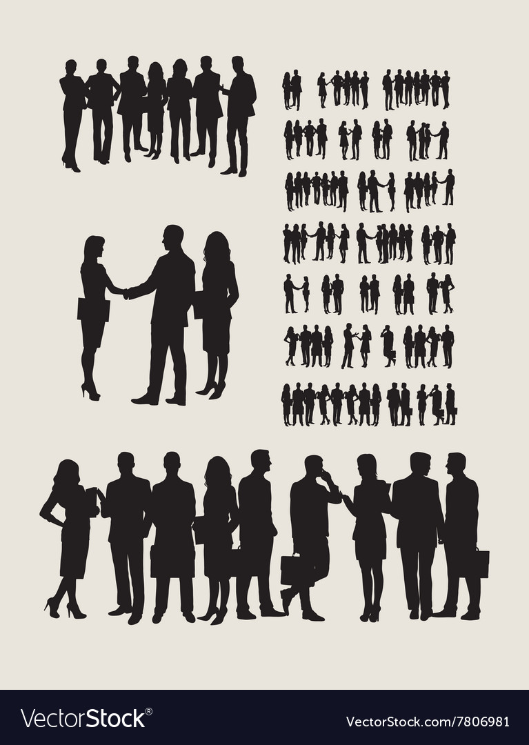 Business Team Silhouettes