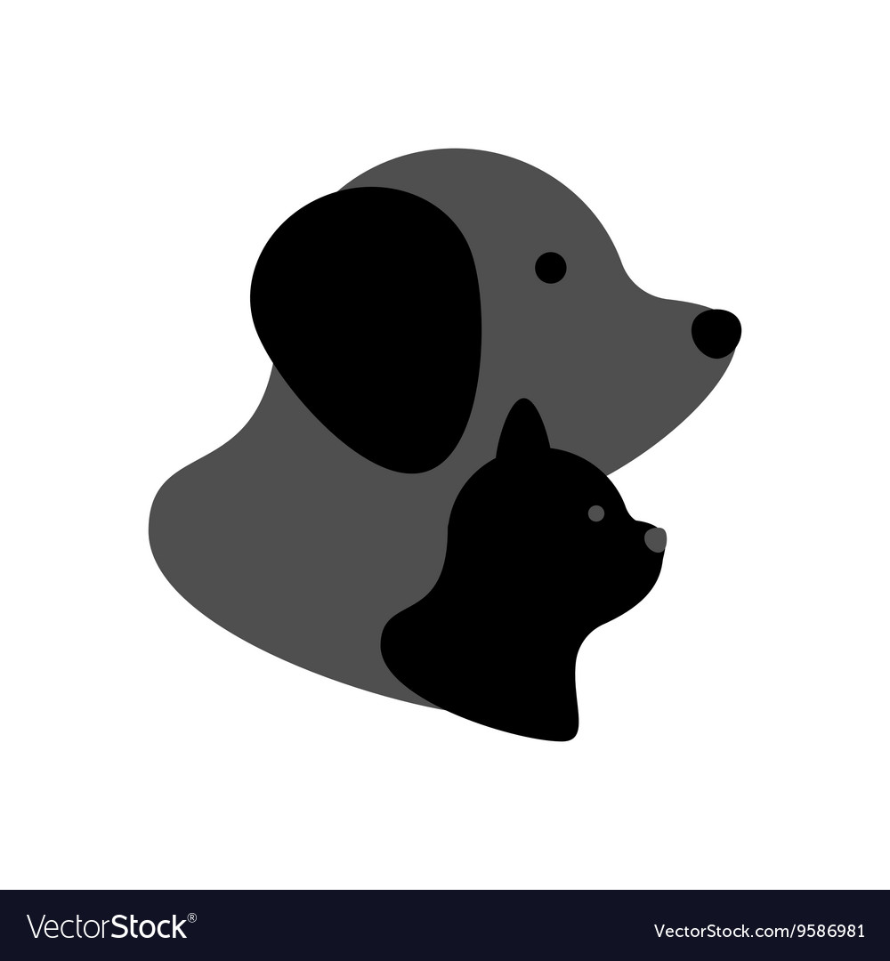 Cat and dog icon