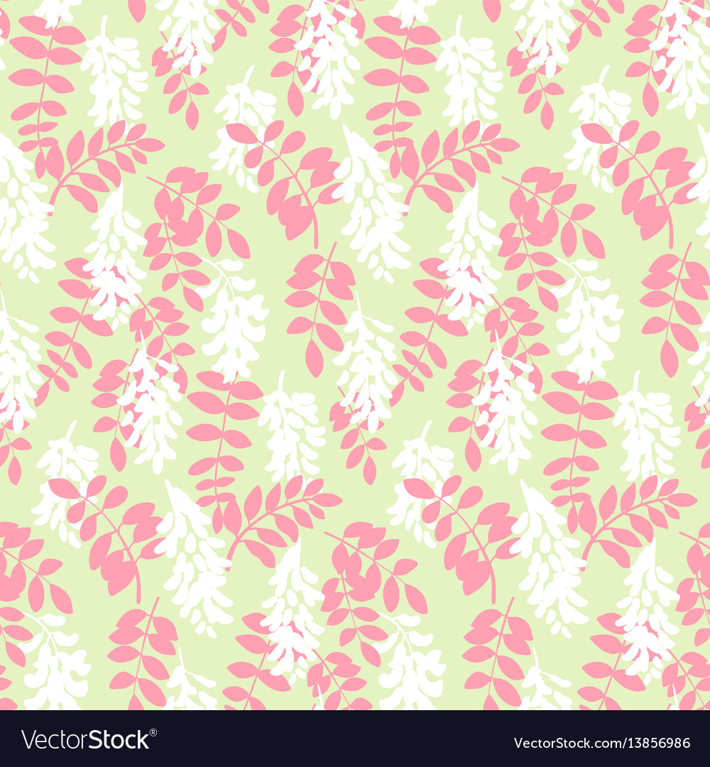 Stylized floral colorful vibrant seamless