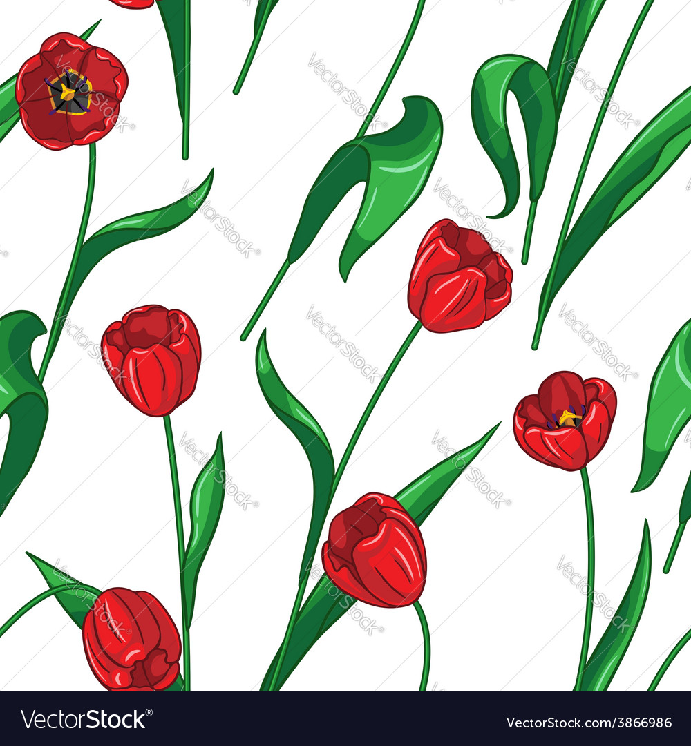 Tulip pattern big