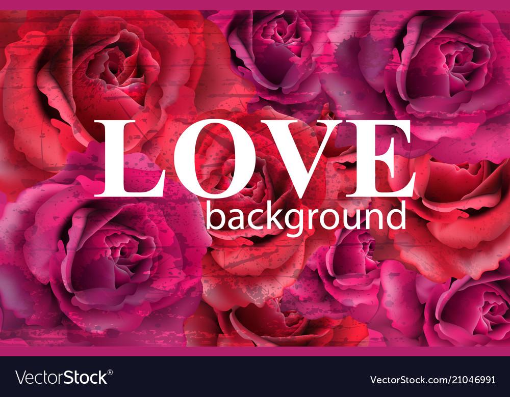 Beautiful red roses background elegant