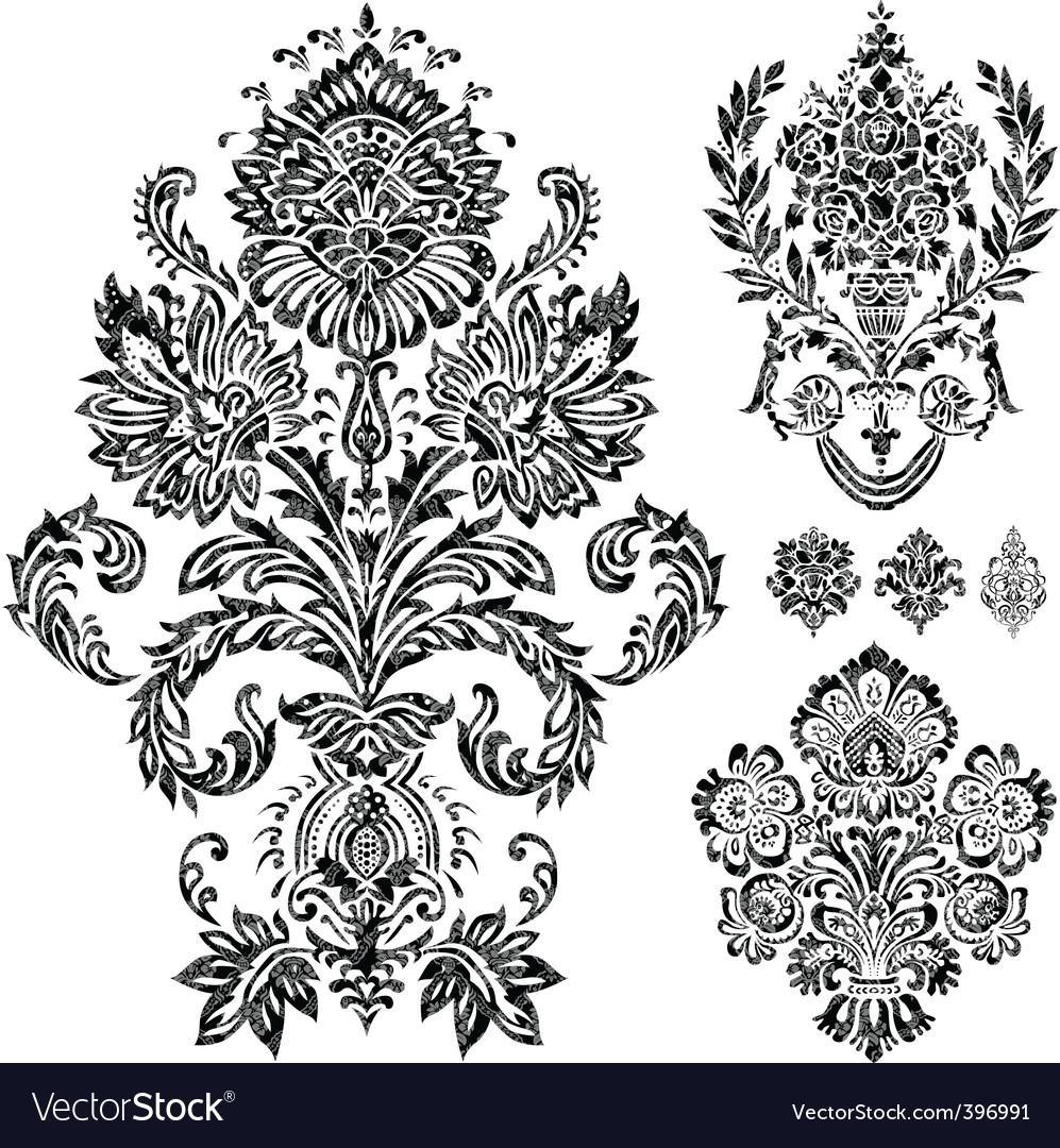 filigree royalty free vector image vectorstock