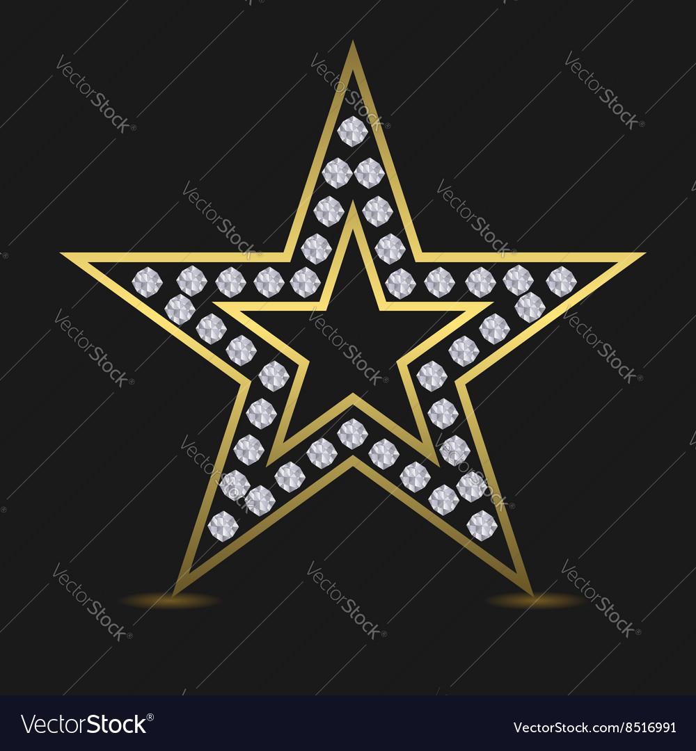 Golden luxury star