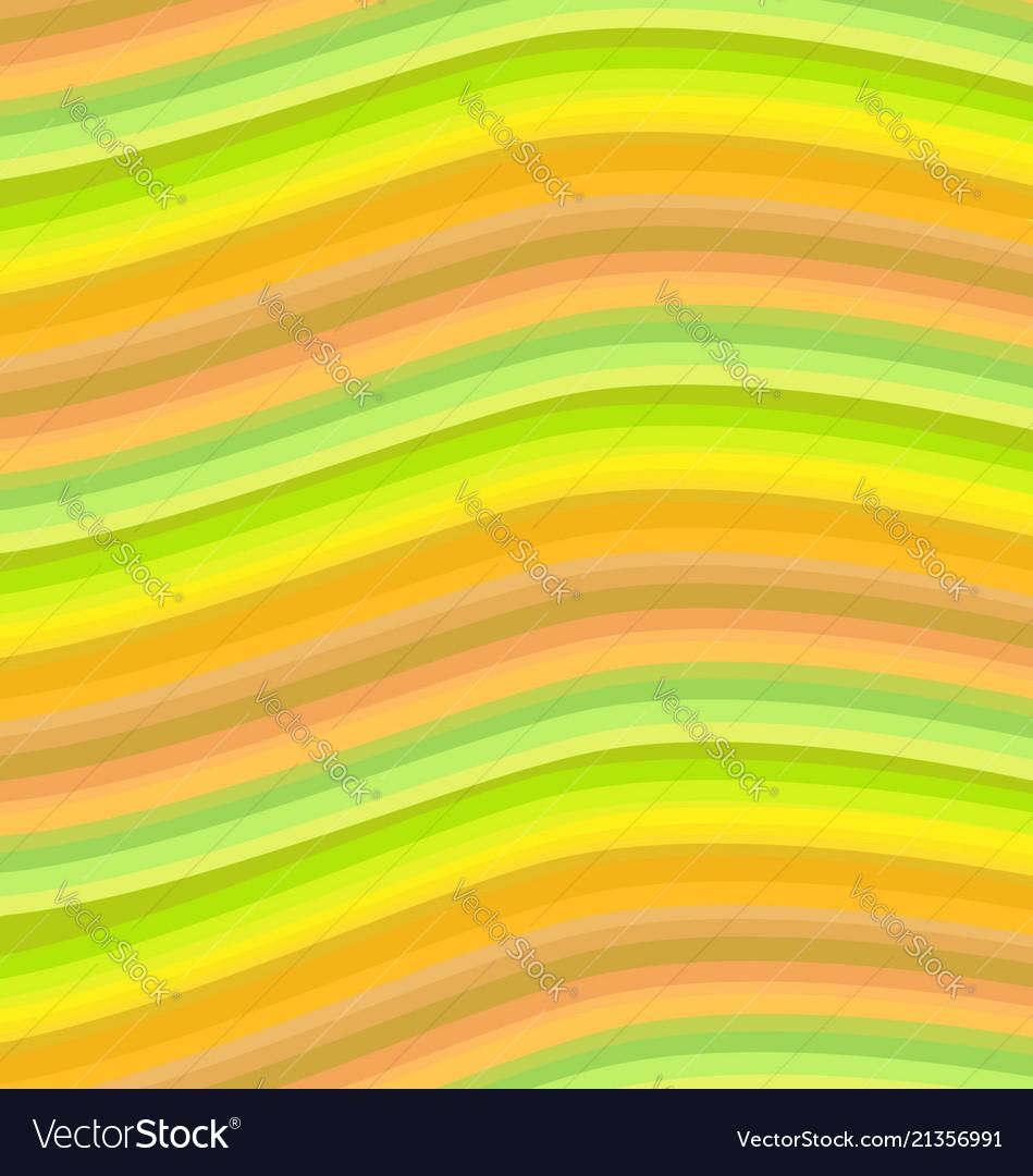 Orange wavy stripes background