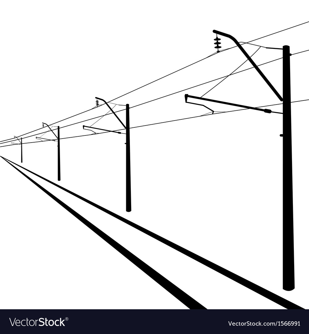 contact wire diagram railroad overhead lines contact wire royalty free vector  railroad overhead lines contact wire