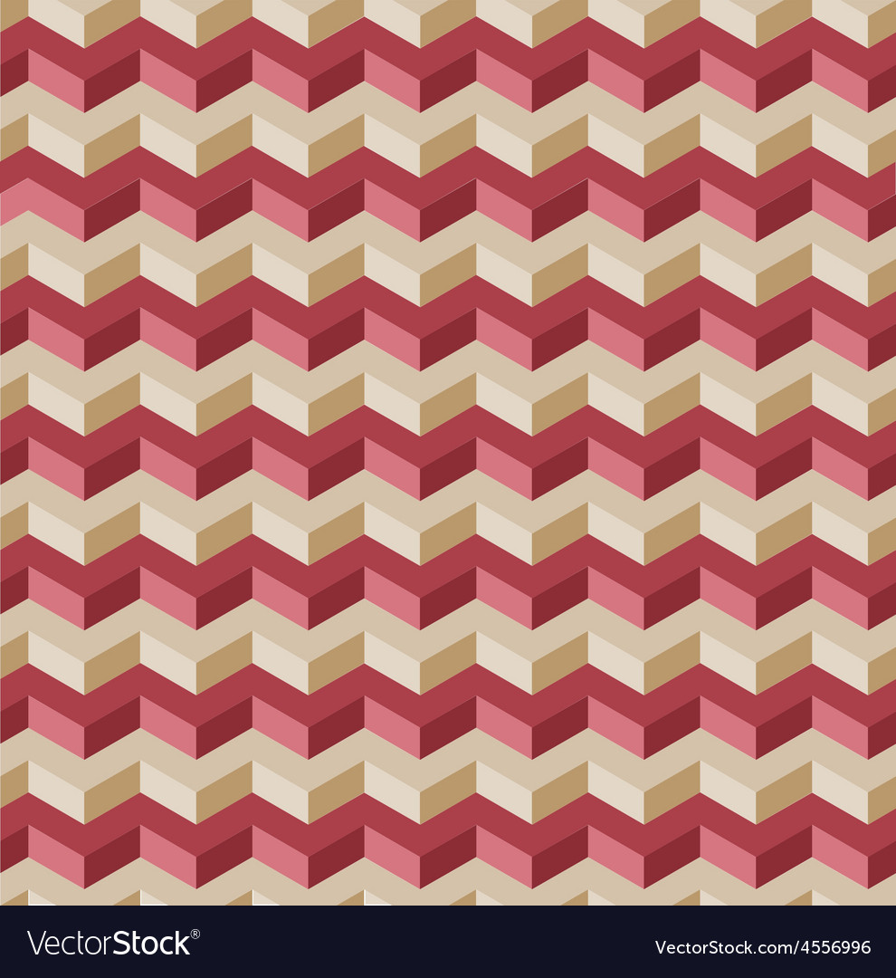3D lines pattern vector image