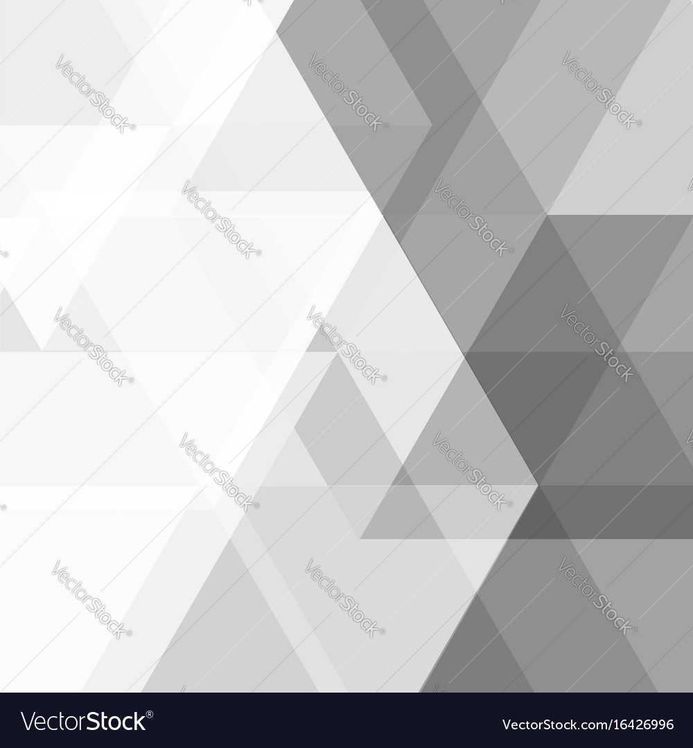 Geometric gray triangle abstract background
